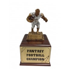Fan 13   Fantasy Football Monster Resin Trophy